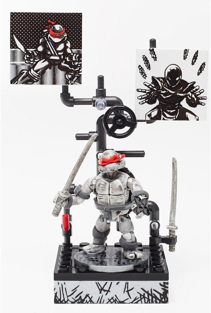 Mega Bloks Teenage Mutant Ninja Turtles - Leonardo Eastman & Laird Collector's Figure