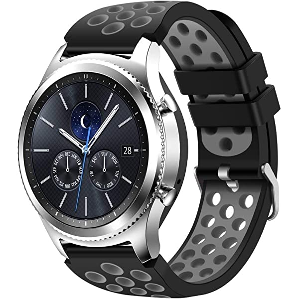 Amazon.com: KADES Galaxy Watch 46mm Bands, Gear S3 Bands ...