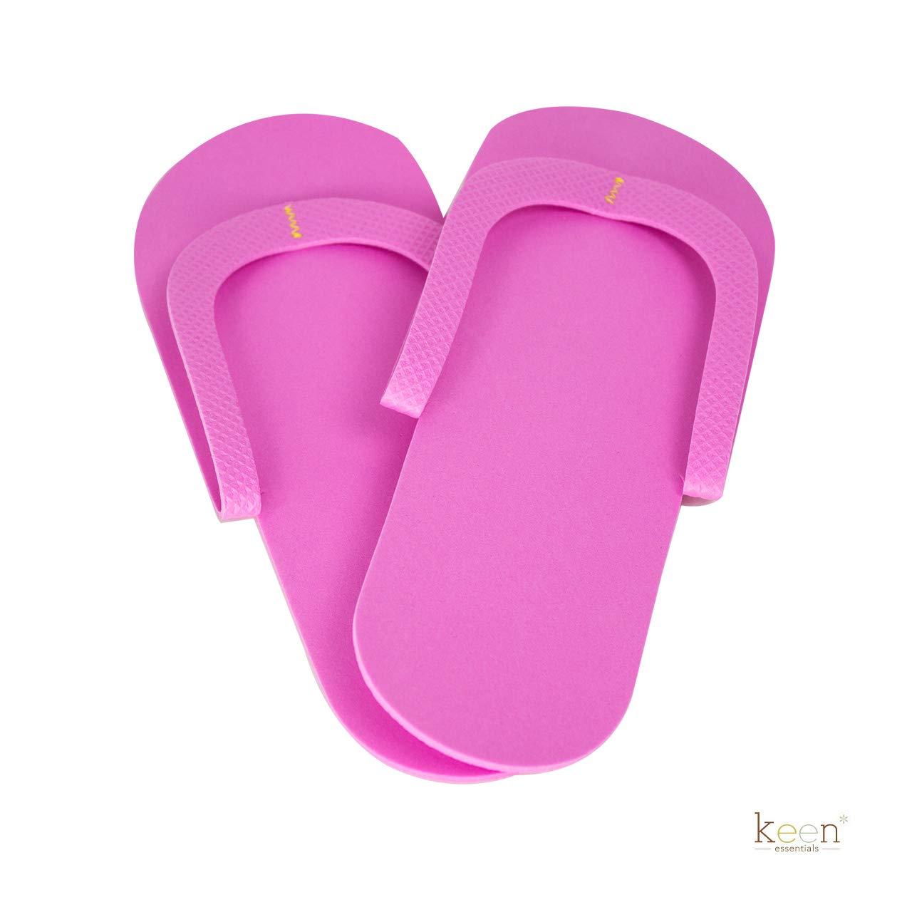ba7099eceba Amazon.com   360 Pairs (1 case) Disposable Pedicure Slippers Foam Flip Flops  SEWING Style for Nail Salon