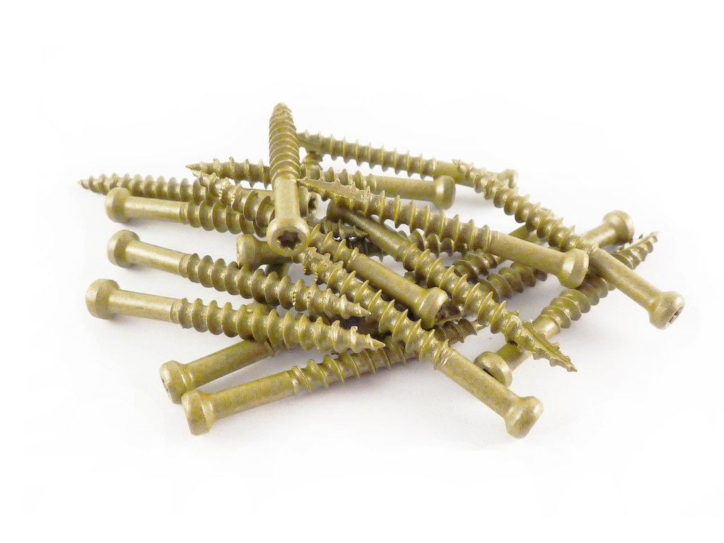 T10 5-Pound Net Weight WoodPro Fasteners TH7X212-5 Number-7 by 2-1//2-Inch Trim Head Wood Construction Screws 680-Piece