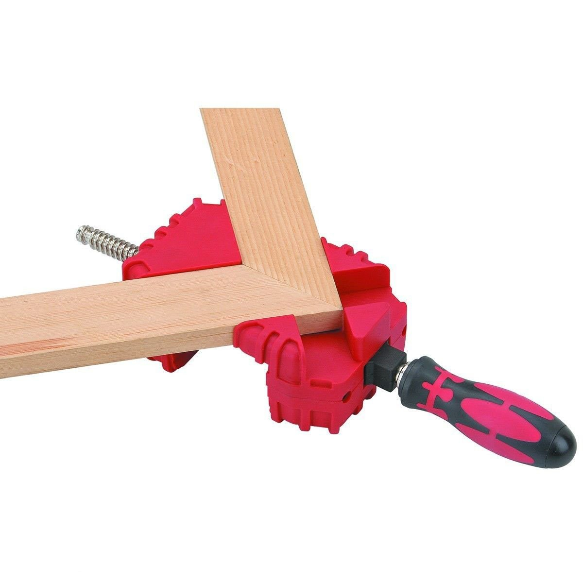 GHP 3-1/3'' Clamping Capacity V-Groove Multiple Position Wood Mitre Corner Vise Clamp