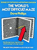 The World's Most Difficult Maze, Dave Phillips, 0486239705