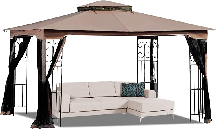Amazon Com Mastercanopy 10 X 12 Gazebo Replacement Canopy Roof For Model Gz798pst E Only Top Garden Outdoor