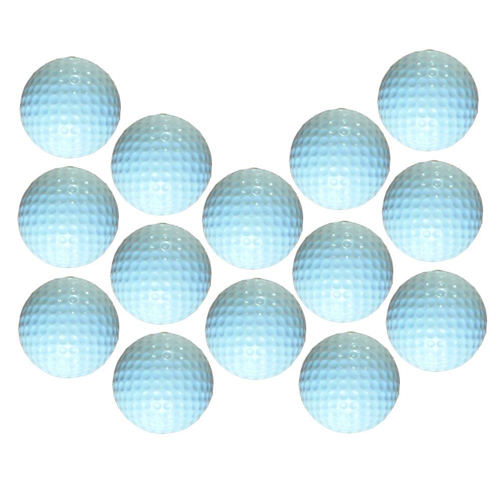Dsmile Practice Golf Balls, Foam, 14 Count, White by Dsmile