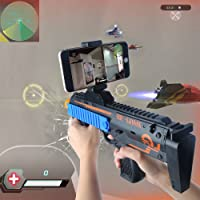 AR Game Gun Augmented Reality Controller Bluetooth Gun Toy Iphone Gamepad for Eletronic Toys for about 7-11 Years Kids by Beiens