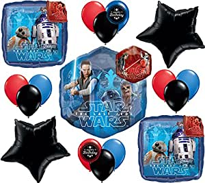 Star Wars The Last Jedi Movie Deluxe Party Balloon Bundle