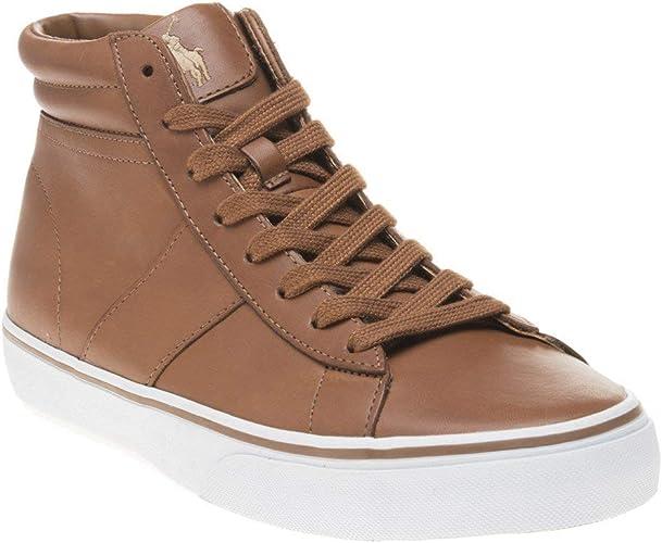 Polo Ralph Lauren Shaw-SK-VLC Zapatos para hombre, Marrón (Beige ...
