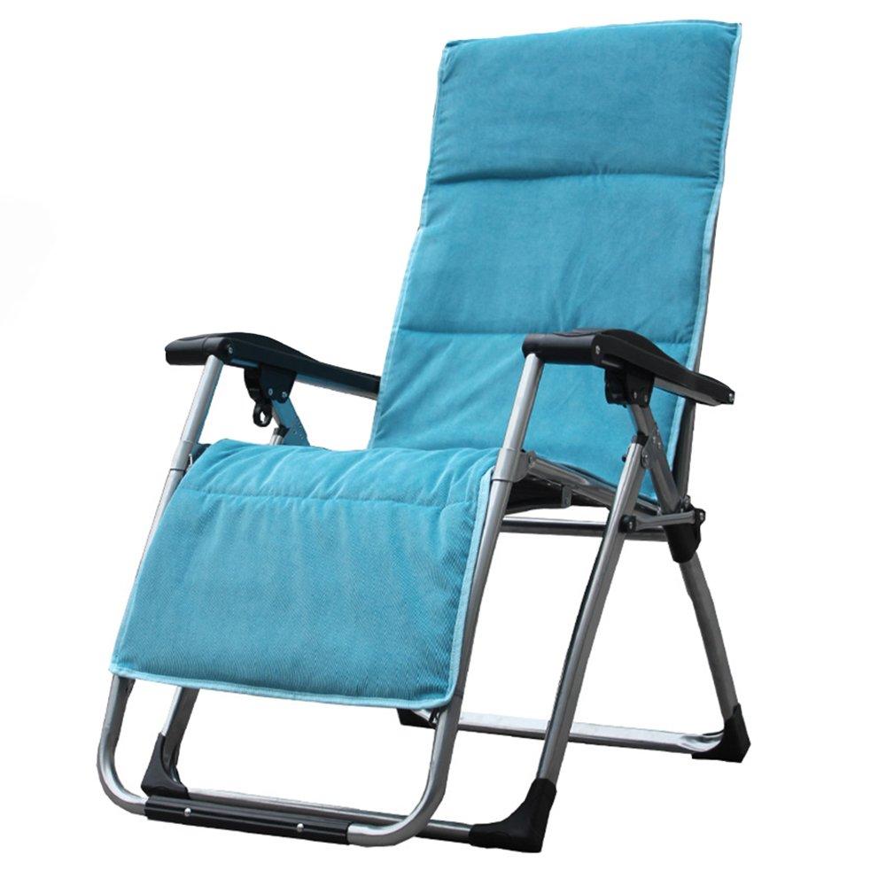 Faltbarer Plattform-Stuhl/faltende Sun-Liege/stützender Stuhl/entspannender Stuhl/Multifunktionsklappstuhl (5 Farben, zum von zu wählen) (Farbe : D)