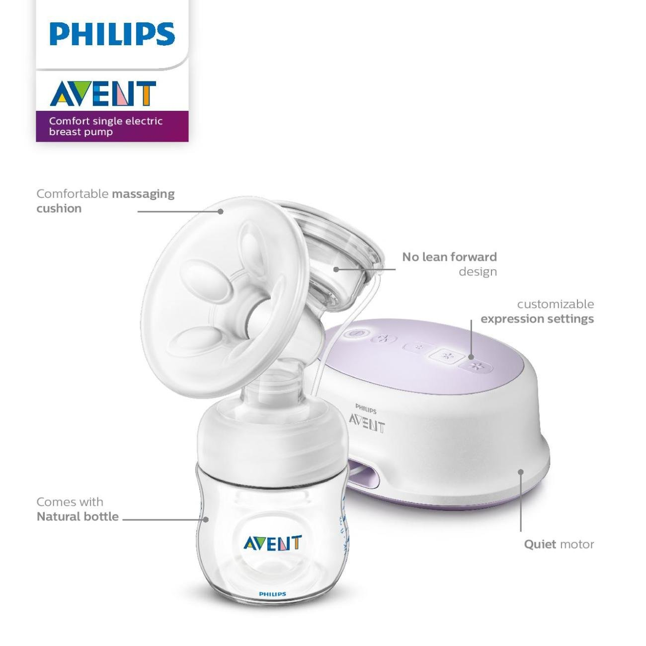 Amazon Com Philips Avent Single Electric Scf332 21 Breast Pump