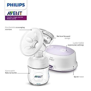 Amazon.com: Philips AVENT Extractor eléctrico SCF332/21 ...