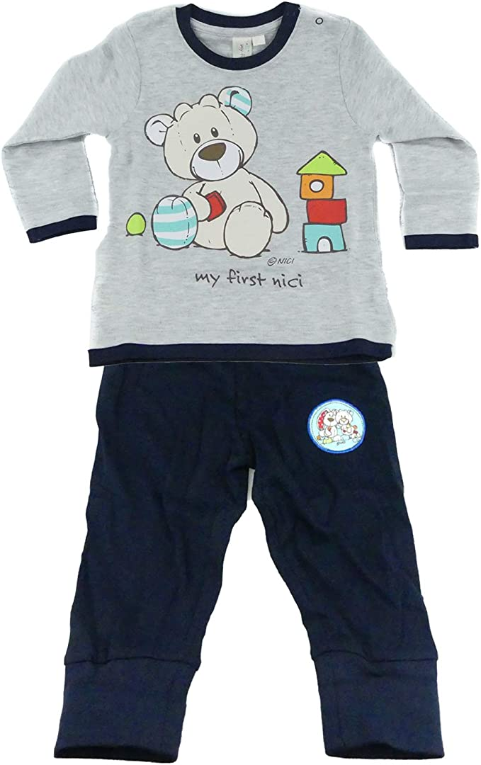 TVM Europe GmbH Baby NICI weicher Pullover und Hose Set f/ür Jungen Baumwolle Rundhals Kragen