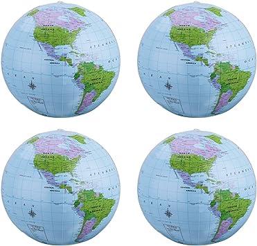 Amazon.com: SBYURE 4 globos inflables de 16 pulgadas de PVC ...