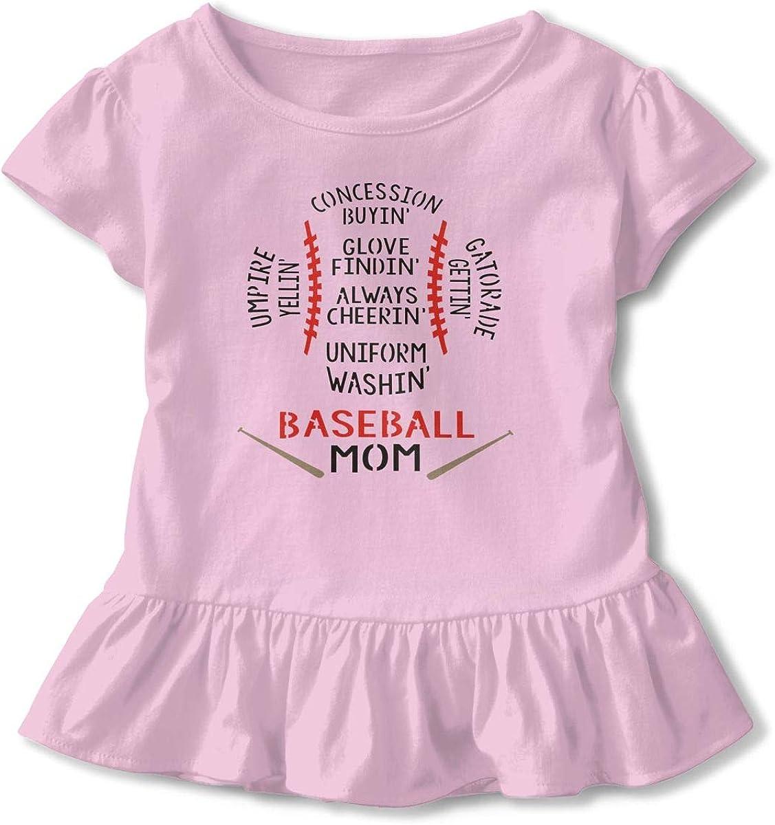 Baby Boys Girls Romper Jumpsuit Baseball Mom Newborn Short Sleeve Bodysuits Infant Outfit Funny Onesie for 0-2T