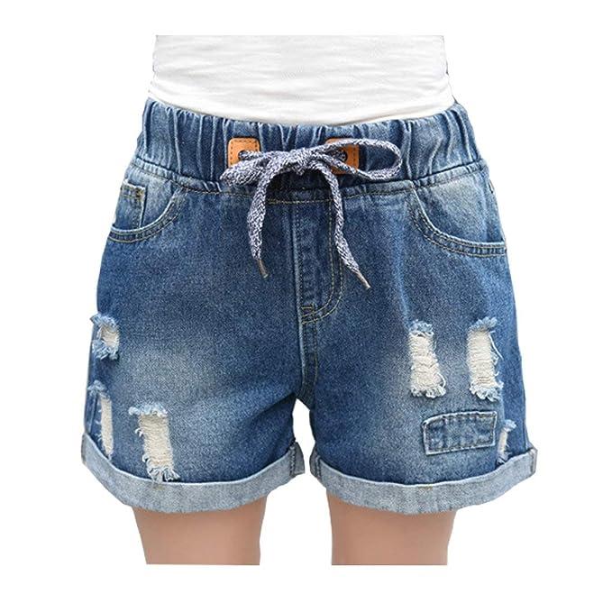 Pantalones Cortos Para Damas Pantalones Cortos Niñas Clásico ...