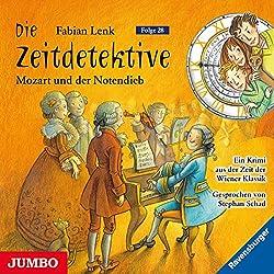 Mozart und der Notendieb (Die Zeitdetektive 28)