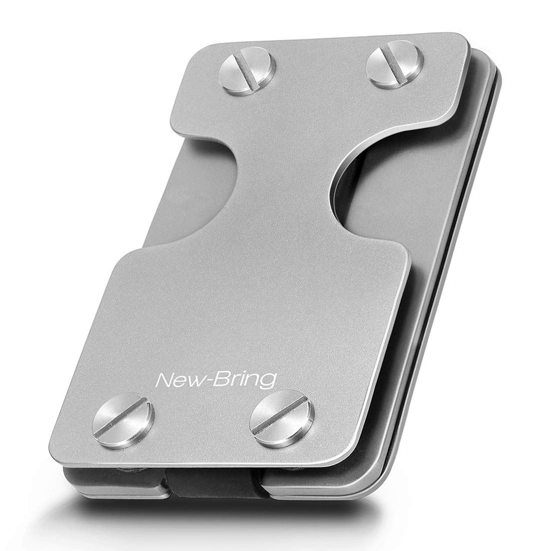 NEW-BRING | Multifunction Compact Metal Key Holder and Credit Card Organizer Money Clip Wallet DGNKB01