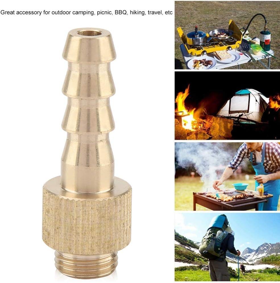 VIFERR Adaptador de Válvula Inflable, Estufa Plana del Cilindro Regulador de la Válvula de Gas Adaptador Adaptador Estufa Inflable Válvula del Adaptador Camping