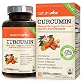 Best Turmeric Curcumin With Bioperines - NatureWise Curcumin Turmeric 1650mg with 95% Curcuminoids Review