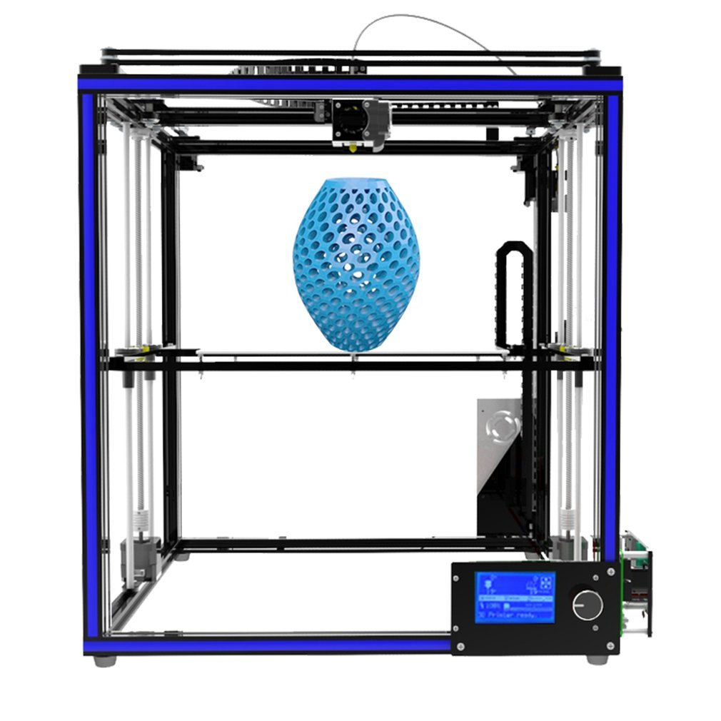 Tronxy X5S 3D Printer Kit with SD Card, Precise Large Printing Size  300x300x400mm Aluminium Structure High Precision Printing, Dual Z Axis  Surpport