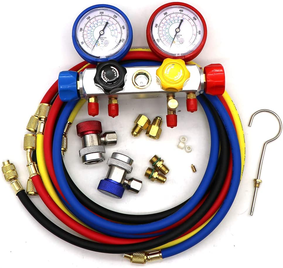 Kit de Man/ómetro Turbo Universal 30 PSI con Manguera de PVC