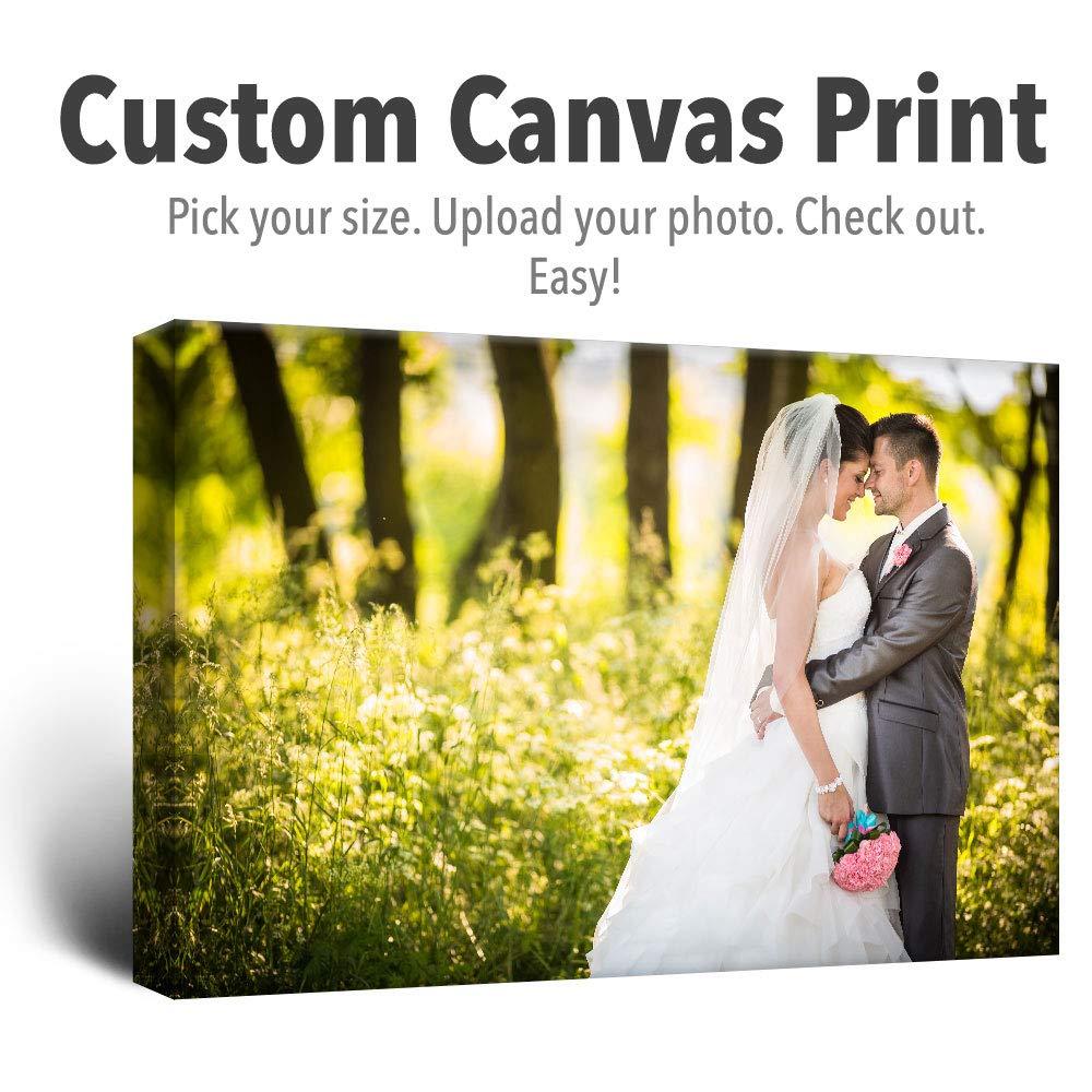 Amazon.com: wall26 Personalized Photo to Canvas Print Wall Art ...