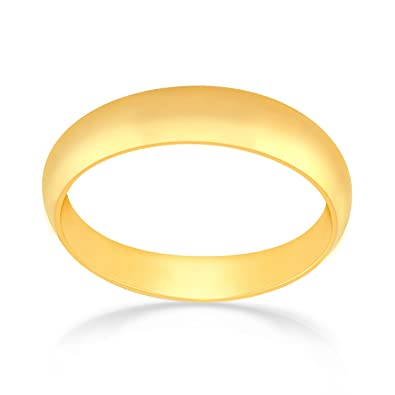 Malabar Gold & Diamonds 22KT Yellow Gold Ring for Men Amazon