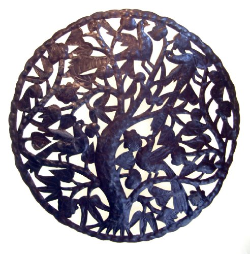 Le Primitif Galleries Haitian Recycled Steel Oil Drum Outdoor
