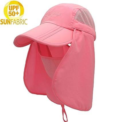 f9d4b2e1103 Amazon.com   Isidore Jackson Sun Cap Fishing Hat For Men Women