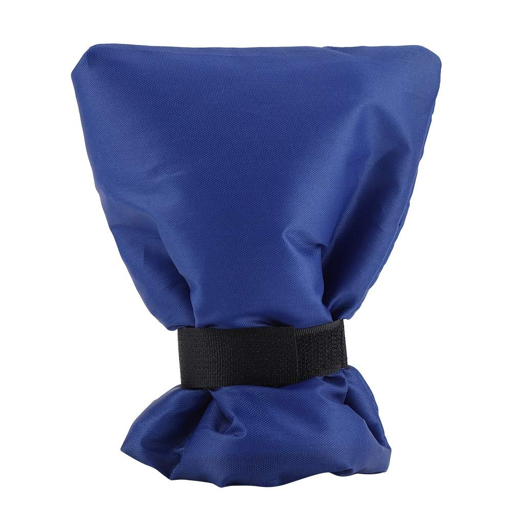 Tap Frost Cover - Anti-Frost-Schutzhü lle, Wasserhahn-Handschuh, Winterwasser-Schutzhü lle (Farbe : Grau) Dewin