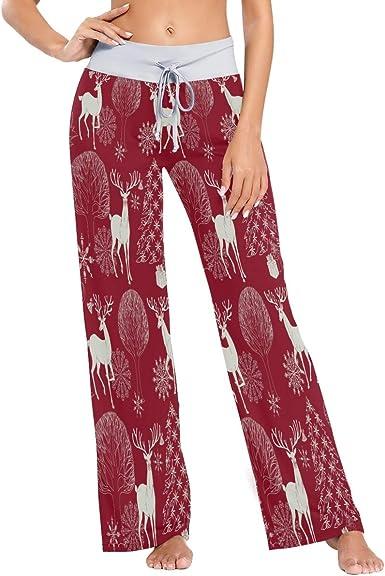 MNSRUU Pantalones de pijama para mujer con texto en inglés ...