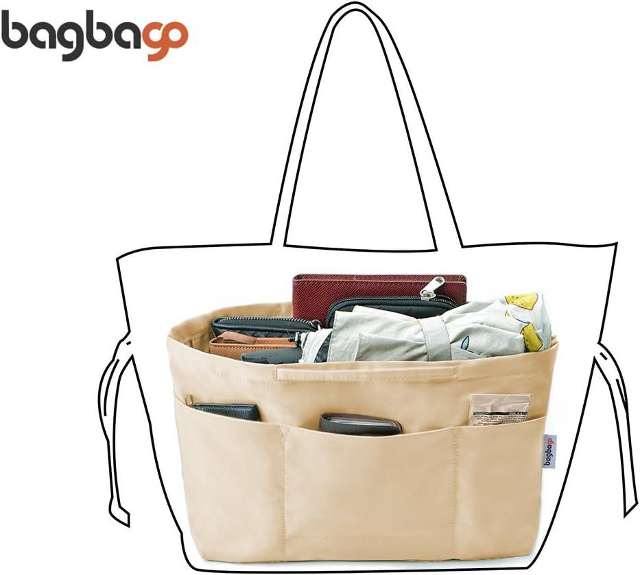 bag in bag Organiseur de Sac /à Main Ins/érer Sac de Rangement Int/érieur Forme sadapte /à Neverfull M Kaki