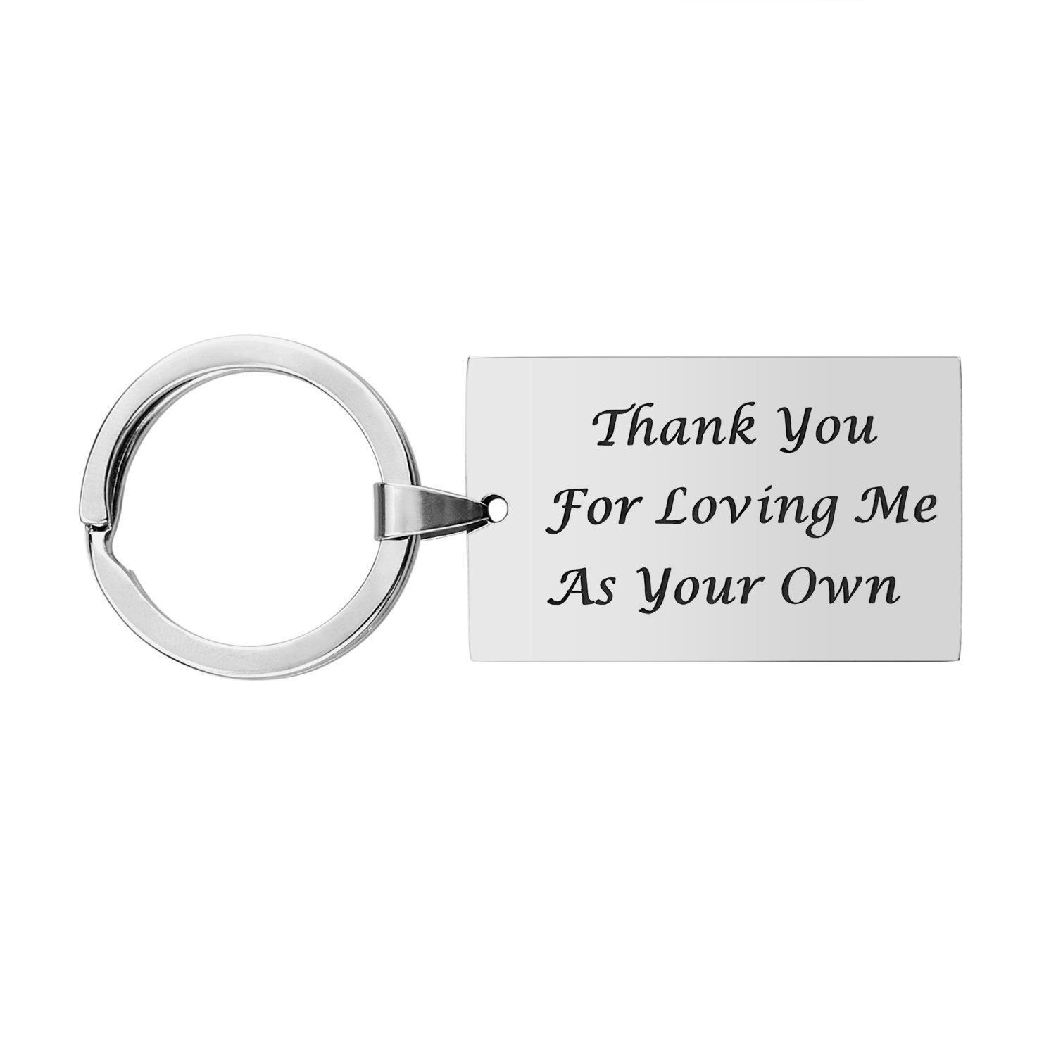 Step Father Dad Keychain Gifts
