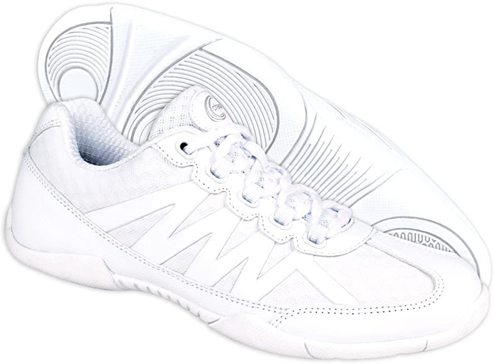 Chass/é Apex Youth Cheerleading Shoes White Cheer Sneakers for Girls