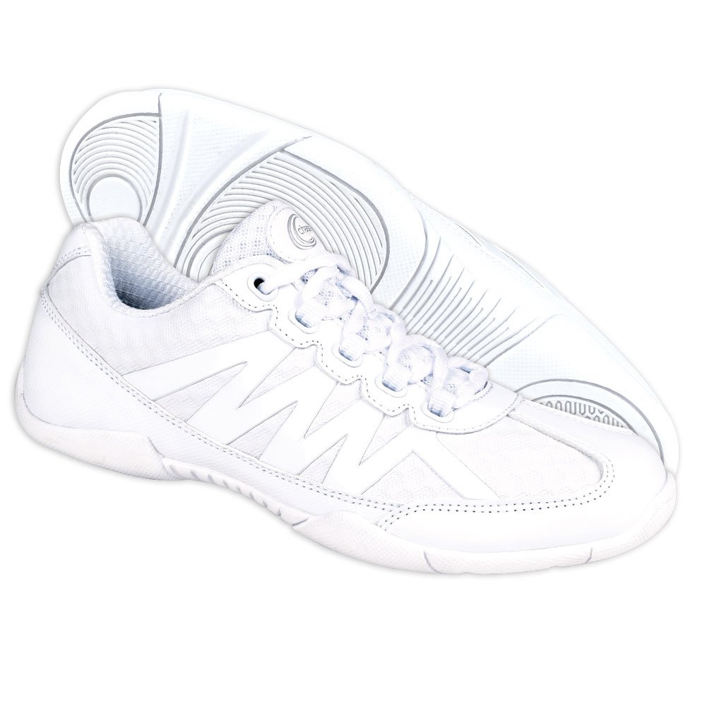Chassé Apex Cheerleading Shoes - White Cheer Shoes for Girls by Chassé