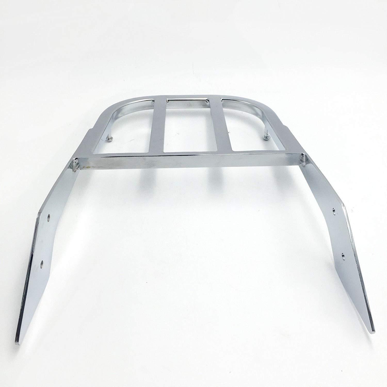 B01HJ65N54 Motorcycle Chrome Sissy Bar Luggage Rack Compatible with 2003-2006 Honda VTX 1300N//R//S and 2002-2008 Honda VTX 1800N//R//S XKH