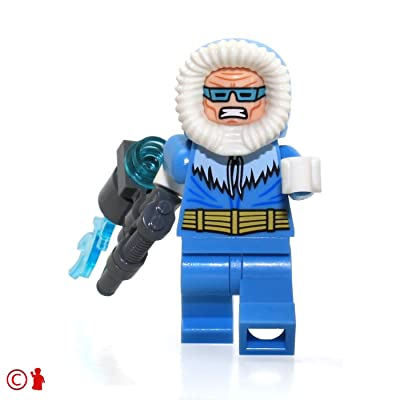 LEGO DC Super Heroes Justice League MiniFigure - Captain Cold (with Freeze Gun) 76026: Toys & Games