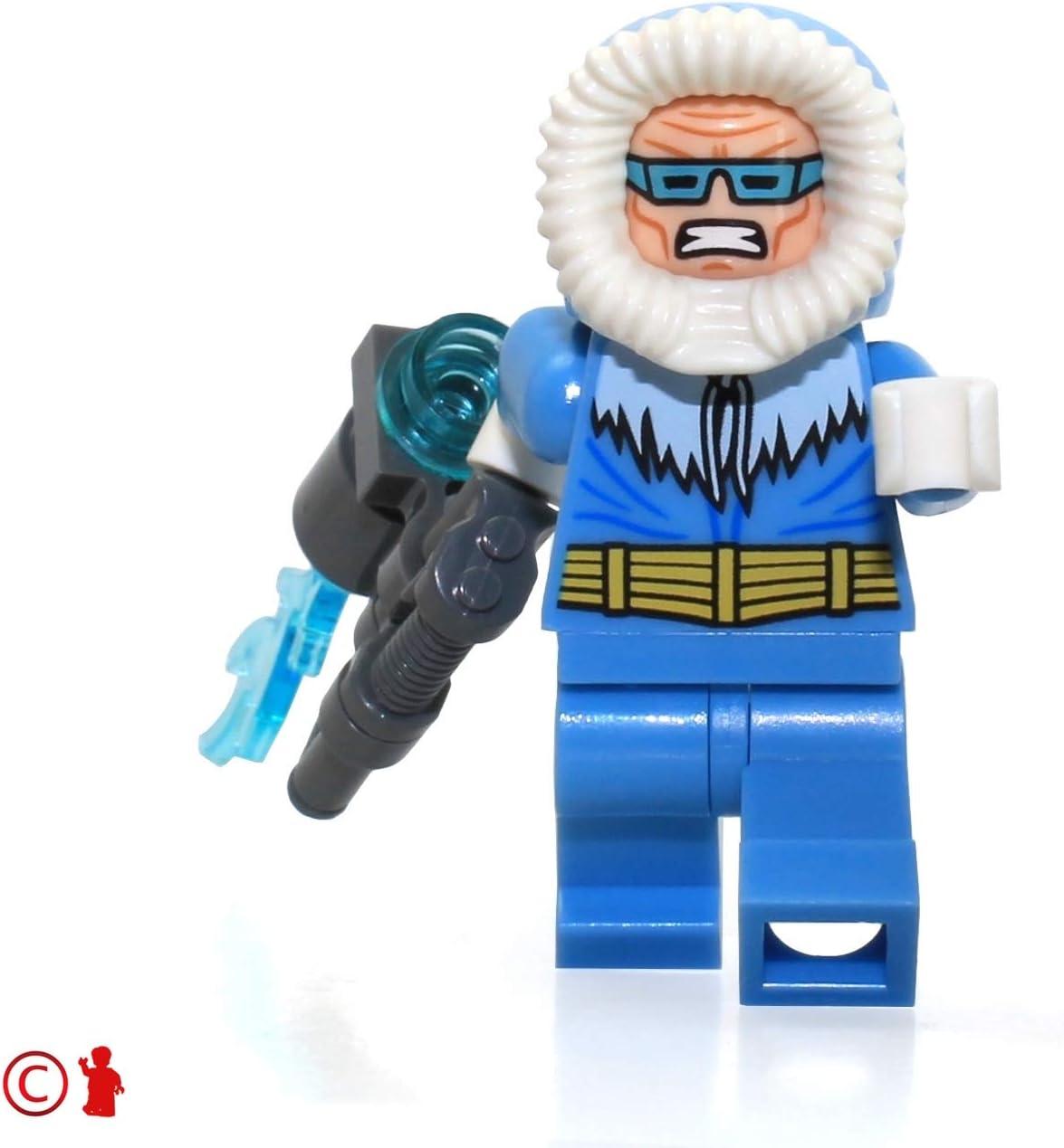 Amazon Com Lego Dc Super Heroes Justice League Minifigure Captain Cold With Freeze Gun 76026 Toys Games