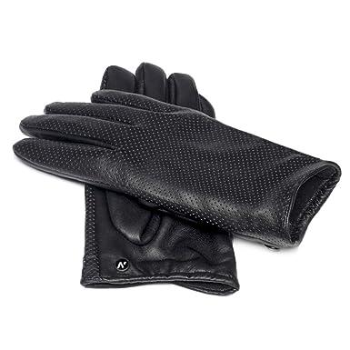 ddaeb59668f0bf napo gloves napoFEMME eco - modische Touchscreen Handschuhe für Damen aus  Kunstleder Schwarz, Lederhanschuhe für