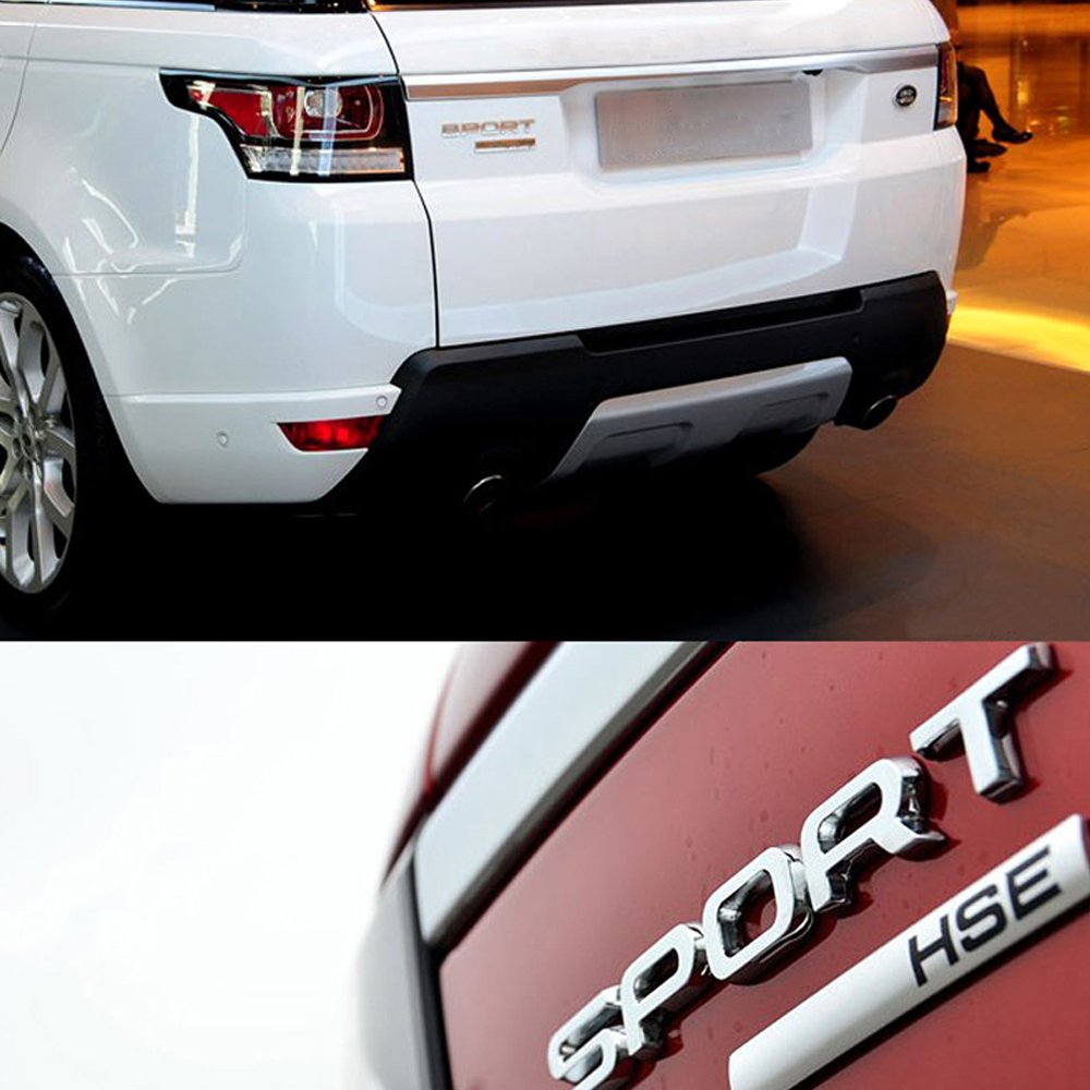 Dsycar 1Pcs Metallo 3D SPORT Car Side Fender Rear Trunk Emblem Badge Sticker Decal