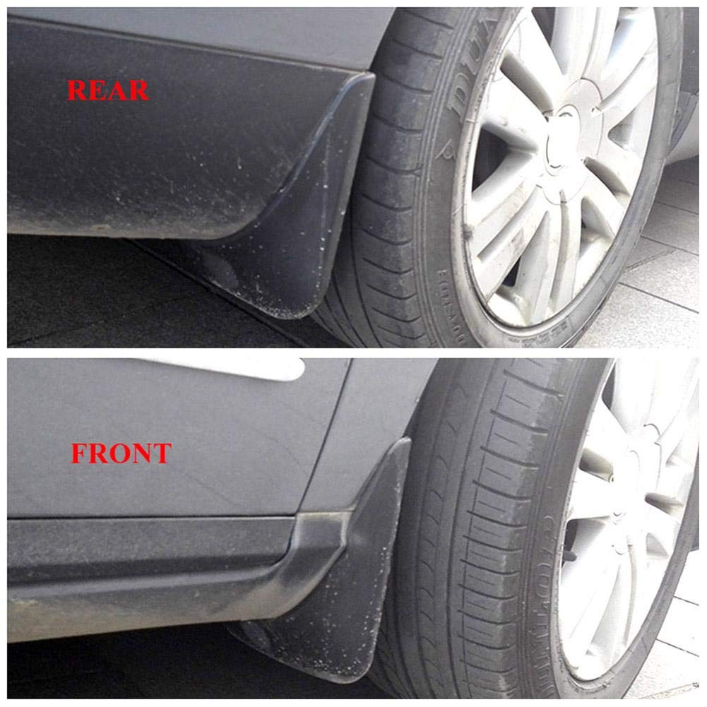 Generp 4PCS Car Mud Flaps,Splash Guard Mud Flap Set for B6 2006 2007 2008 2009,Provides Protection For The Car Body Reduces Splashing Of Mud.
