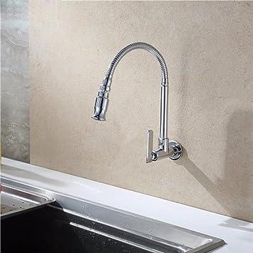 Hlluya Wasserhahn für Waschbecken Küche Die Messing schwenkbar ...