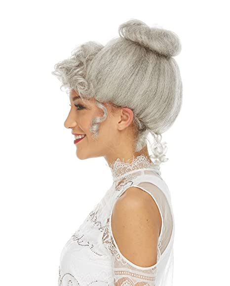Vintage Hair Accessories: Combs, Headbands, Flowers, Scarf, Wigs Womens Gibson Girl Costume Wig $38.95 AT vintagedancer.com