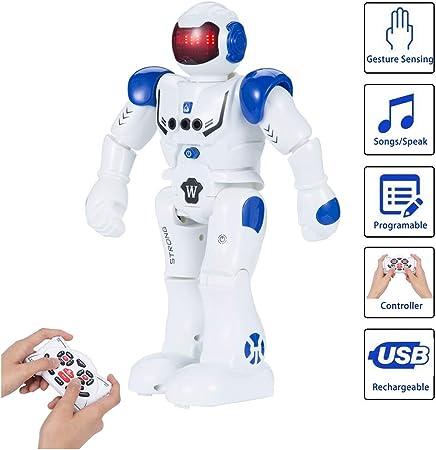 🍭Robot Interactivo: Robot de control remoto SUNNOW puede brindar más diversión a los niños con cant