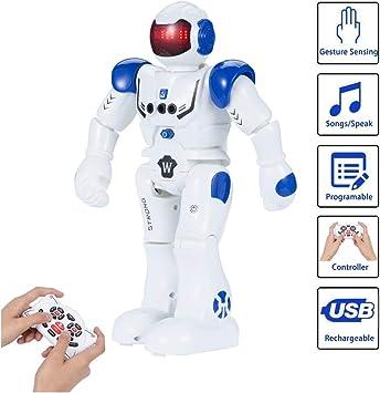 SUNNOW Robot Juguete Programación Inteligente Gestos Control ...