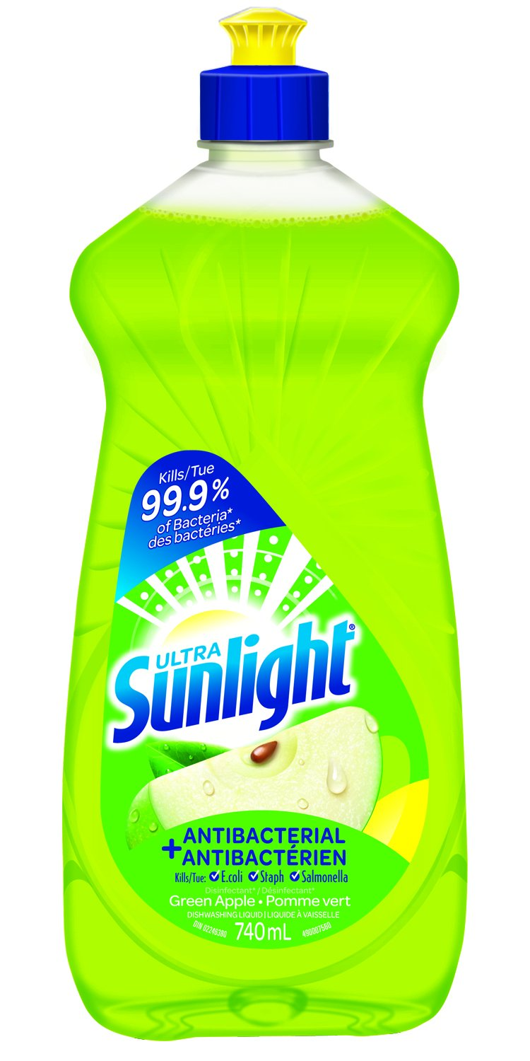 Sunlight Hand Replenishing - Pomegranate Dishwashing Liquid, 740mL, 26 Ounce The Sun Products Corp.