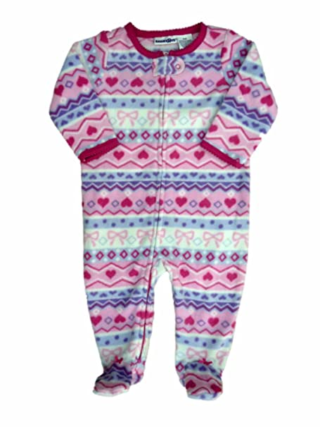 3a3e1c269e Babies R Us Infant Girls Nordic Pink Blanket Sleeper Footed Pajamas 6m