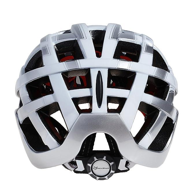 RockBros WT051 MTB Bicicleta de Carretera Casco con Ciclismo Gafas y 3 Lente (Color 4): Amazon.es: Deportes y aire libre