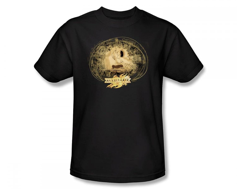 Mirrormask - Sketch Adult T-Shirt In Black