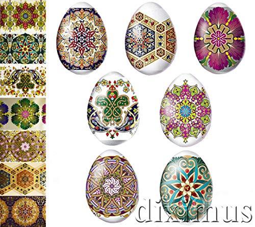 Diximus Thermo Heat Shrink Sleeve Decoration Easter Egg Wraps Pysanka Pysanky Patterns