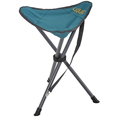 Uquip Darcy Portable Folding Tripod Camping and Sports Stool: Kitchen & Dining